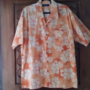 🎉HP🎉 World Island 100% cotton shirt Sz XL